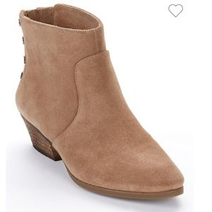 Vince Camuto Suede Ankle Booties 7.5